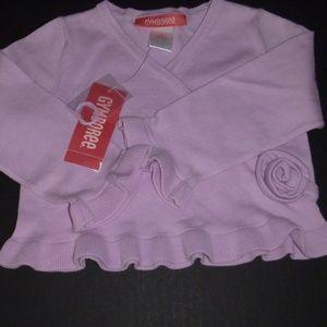 Sweet Lilac Gymboree Sweater-2T